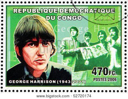 George Harrison Stamp
