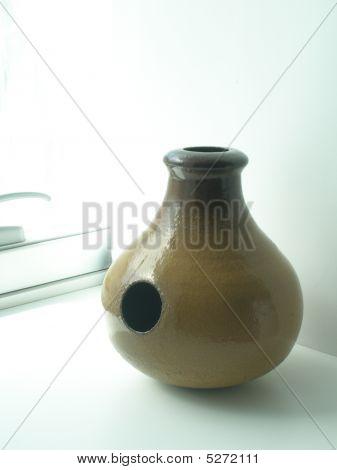 Udu Ethnical African Clay Drum
