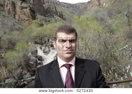 Portrait Of Armenian Businessman