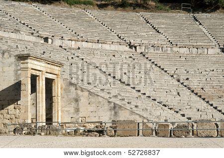 The Epidaurus, Ancient Theater In Greece