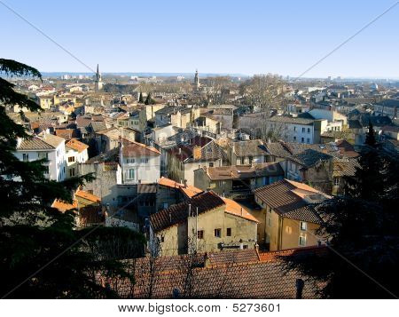 View Of Avignon Rooftops