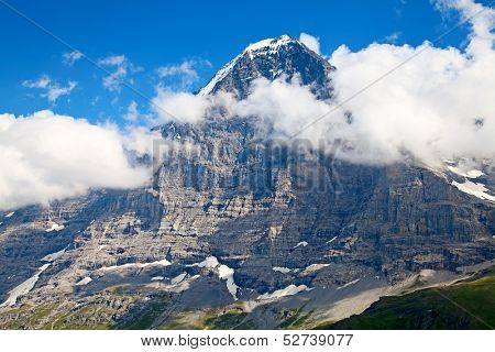 Mount Eiger in the Jungfrau region