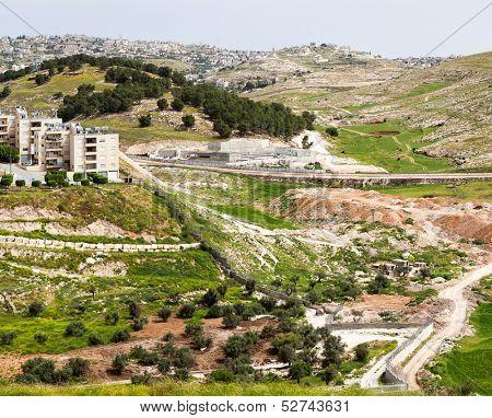 Bethlehem in the Holy Land