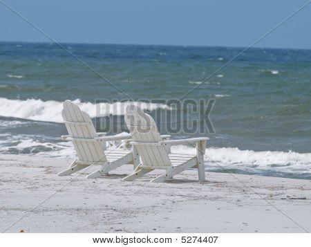 Inviting Adirondack Beach Chairs