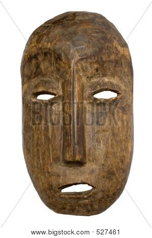 Male Carnival Mask W/ Path