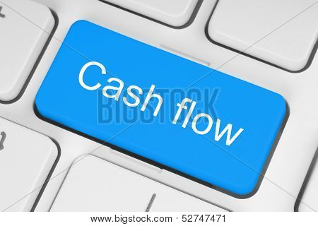 Blue cash flow button