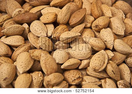 A bunch of almonds for Christmas