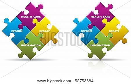 Health Care Puzzle Pieces