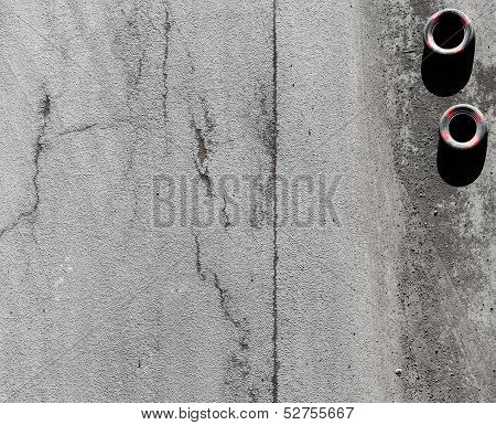 Background Texture Of An Asphalt Road Surface With Tires
