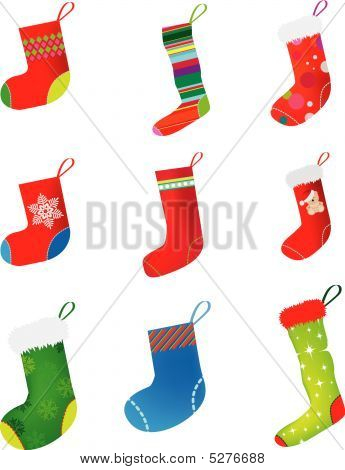 Xmas Stocking Set.eps