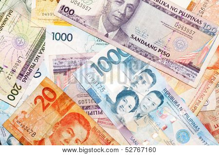 Assorted Filipino Pesos