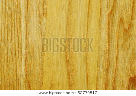 Longitudinal Texture Of A Wooden Board