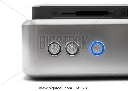 External Hard Disk (Close Front View)