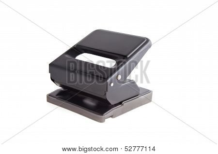 Hole Puncher On A White Background
