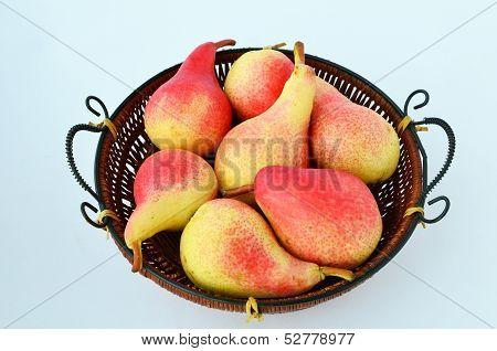 Pears In A Winnowing Basket