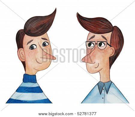 men's avatars