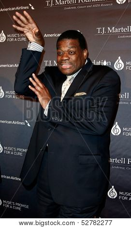 NEW YORK- OCT 22: Former NBA player Bernard King attends the T.J. Martell Foundation's 38th Annual Honors Gala at Cipriani's on October 22, 2013 in New York City.