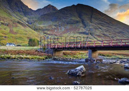 Bridge on highlands