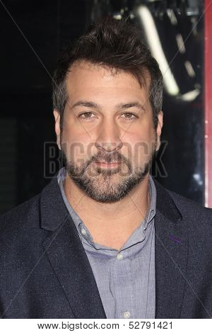 LOS ANGELES - OCT 23: Joey Fatone at the Premiere of