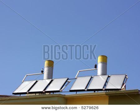 Panel de la calefacción de agua solar