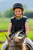 stock photo of breed horse  - Horse riding - JPG
