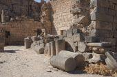 picture of euphrat  - Bosra old city on the desert Syria - JPG