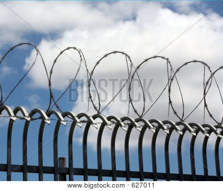 Circular Barbed Wire Fencing