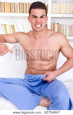 Man Having Problems With Impotence
