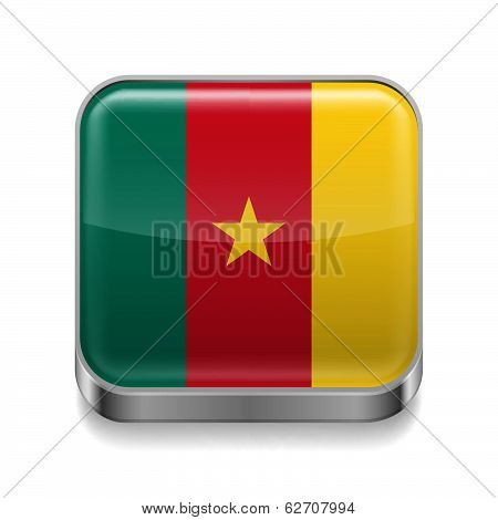 Metal  icon of Cameroon