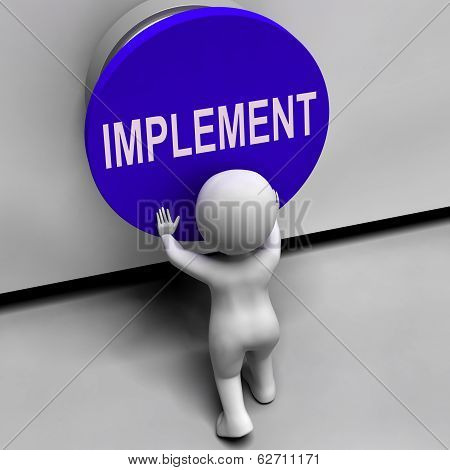 Implement Button Means Do Apply Or Execution