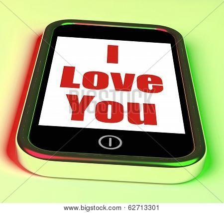 I Love You On Phone
