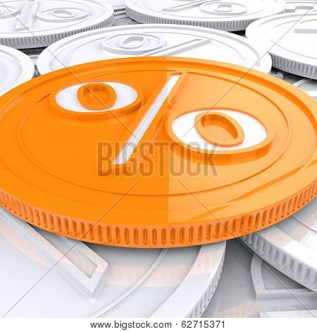 Percentage Coin Shows Interest  Earn Or Owed
