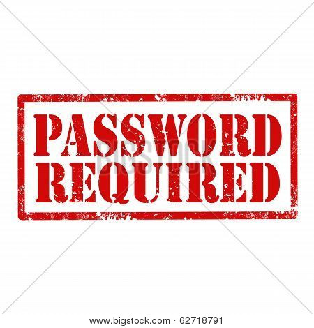Password Required-stamp