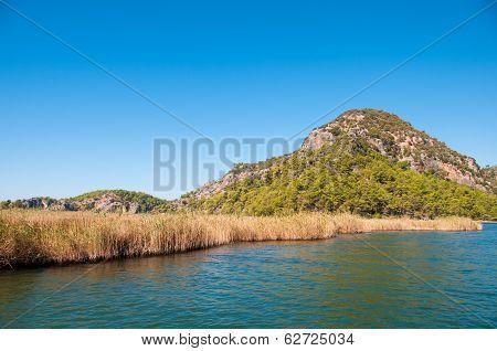 Turkey, Mountains Near The River
