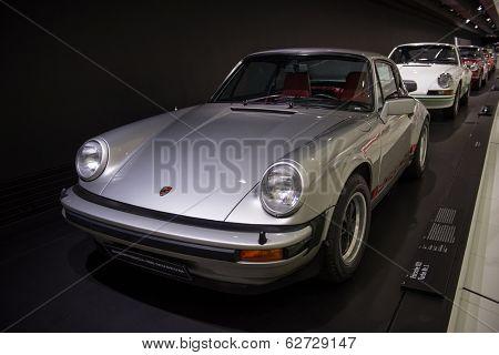 STUTTGART, GERMANY - CIRCA APRIL, 2014: Porsche Museum.
