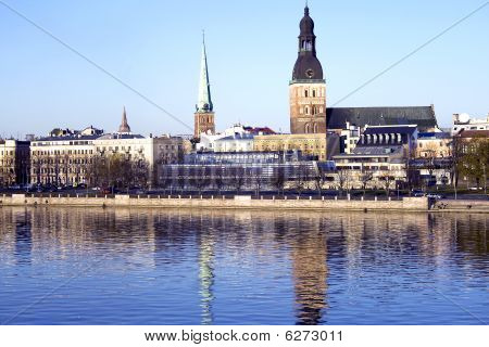Riga - panoramic view
