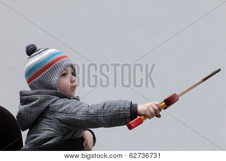 Child With A Dagger Toy