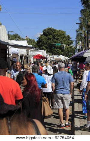 People At Las Olas Art Fair