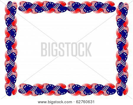 fourth july balloon boarder