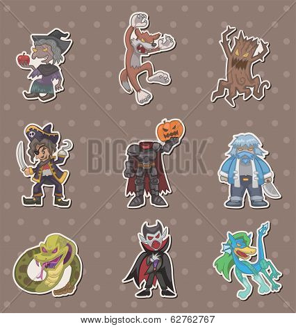 Story Villain Stickers
