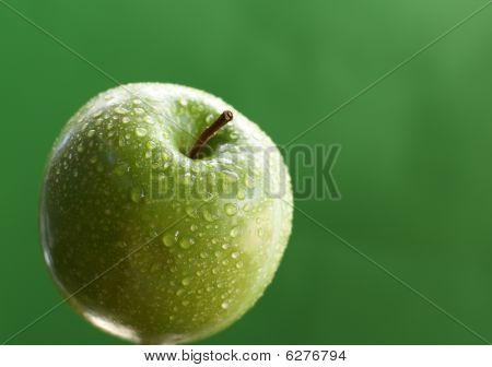 Green Apple in the garden