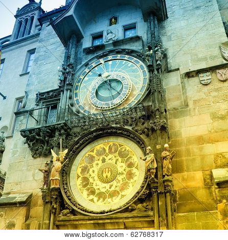 Orloj Astronomical Clock In Prague