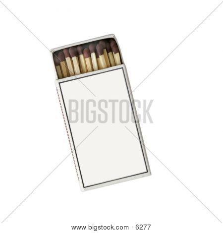Match Box Isolated