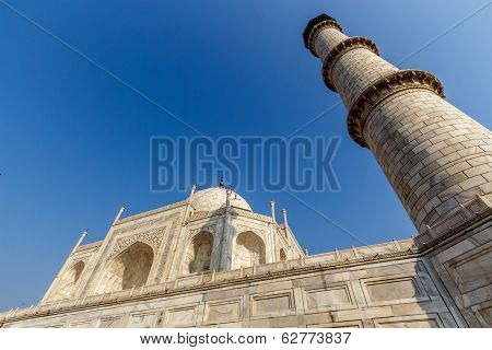Taj Mahal From Low Angle