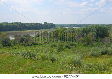 Summer Siberia Nature