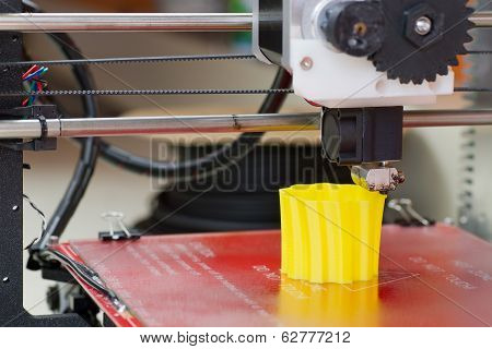 3D Printer In Action