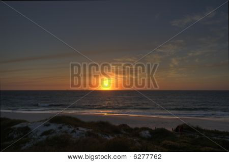 Sunset Over Cottesloe Beach