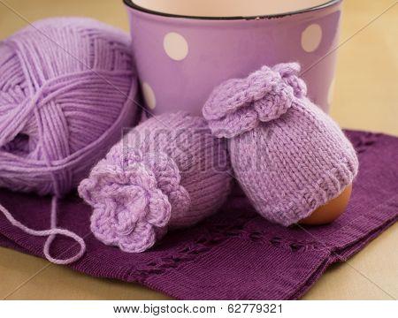 lavender egg warmers