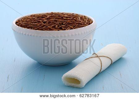 Healthy Bran Cereal Breakfast