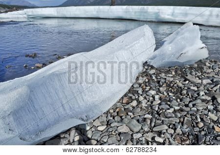 Summer Glacier Ice.